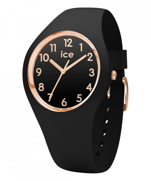 Ice Watch Glam S Black Rose-Gold Relógio Mulher 014760