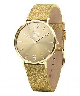 Ice Watch City Sparkling S Glitter Gold Relógio Mulher 015087