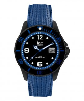 Ice Watch Steel L Black Blue Relógio Homem 015783