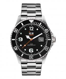 Ice Watch Steel L Black Silver Relógio Homem 016032