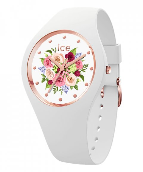 Ice Watch Flower S White bouquet Relógio 017575