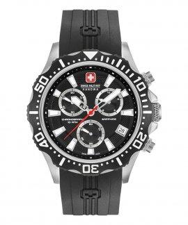 Swiss Military Hanowa Navy Patrol Chrono Relógio Homem 06-4305.04.007