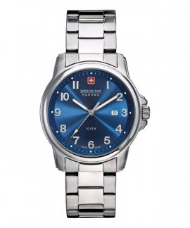 Swiss Military Hanowa Recruit Prime Relógio Homem Gift Set Blue 06-8010.04.003