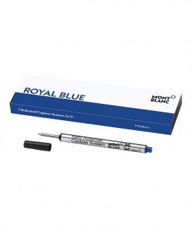 Montblanc Royal Blue Rollerball M Recargas Caneta 124496