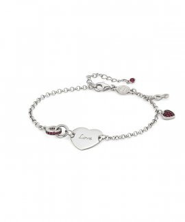Nomination Easychic Engraved Heart Joia Pulseira Mulher 147906/043