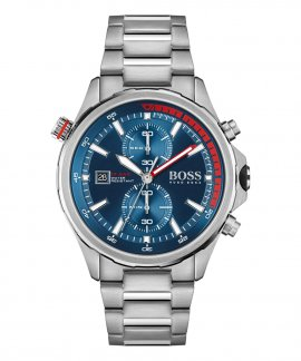 Hugo Boss Globetrotter Relógio Homem Cronógrafo 1513823