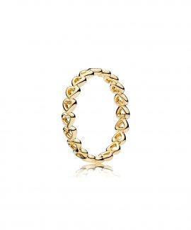Pandora Shine Linked Love Joia Anel Mulher 167105