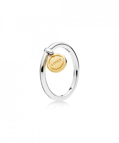 Pandora Shine Medallion of Love Joia Anel Mulher 167823
