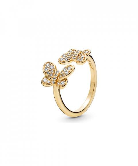 Pandora Shine Dazzling Butterflies Joia Anel Mulher 167913CZ