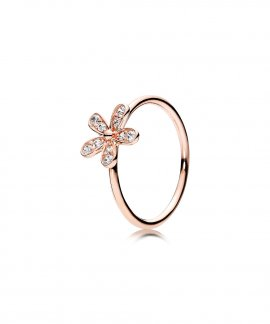 Pandora Rose Dazzling Daisy Joia Anel Mulher 180932CZ