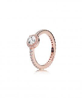 Pandora Rose Classic Elegance Joia Anel Mulher 180946CZ