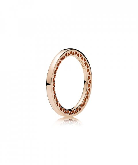 Pandora Rose Classic Hearts Joia Anel Mulher 186237