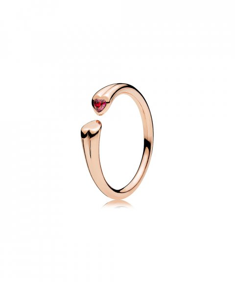 Pandora Rose Two Hearts Joia Anel Mulher 186570CZR