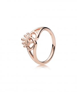 Pandora Rose United Regal Hearts Joia Anel Mulher 187685