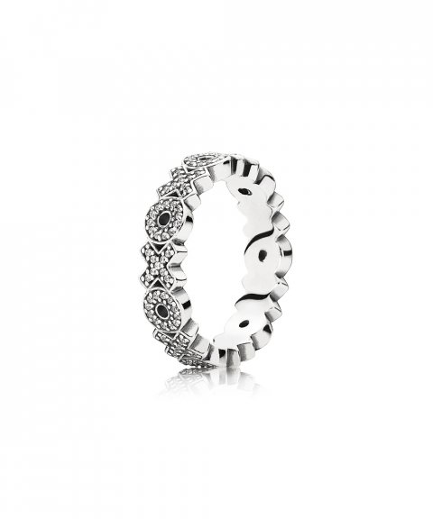 Pandora Sparkling Hugs and Kisses Joia Anel Mulher 190926CZ