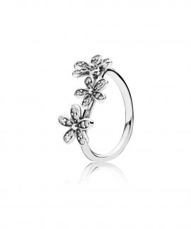 Pandora Dazzling Daisies Joia Anel Mulher 190933CZ