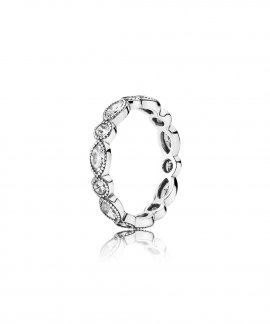 Pandora Alluring Brilliant Marquise Joia Anel Mulher 190940CZ