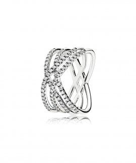 Pandora Cosmic Lines Joia Anel Mulher 196401CZ