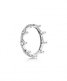 Pandora Enchanted Crown Joia Anel Mulher 197087CZ
