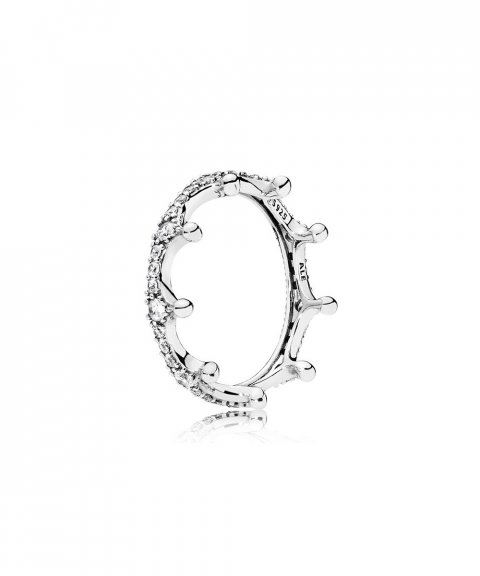 Pandora Enchanted Crown Joia Anel Mulher 197087CZ