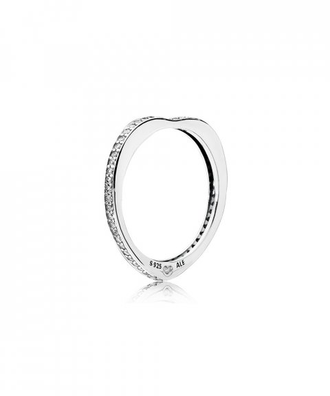 Pandora Sparkling Arcs of Love Joia Anel Mulher 197095CZ