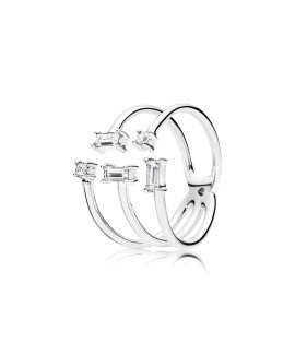 Pandora Shards of Sparkle Joia Anel Mulher 197527CZ