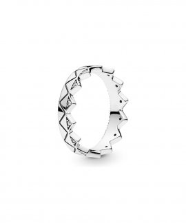 Pandora Exotic Crown Joia Anel Mulher 198033CZ