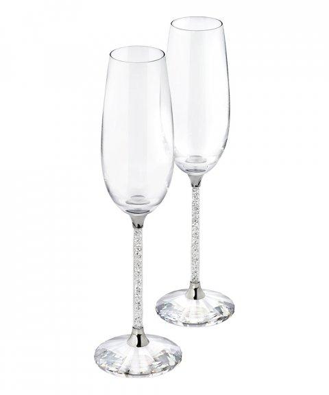 Swarovski Crystalline Toasting Flutes Decoração Copo Set 255678