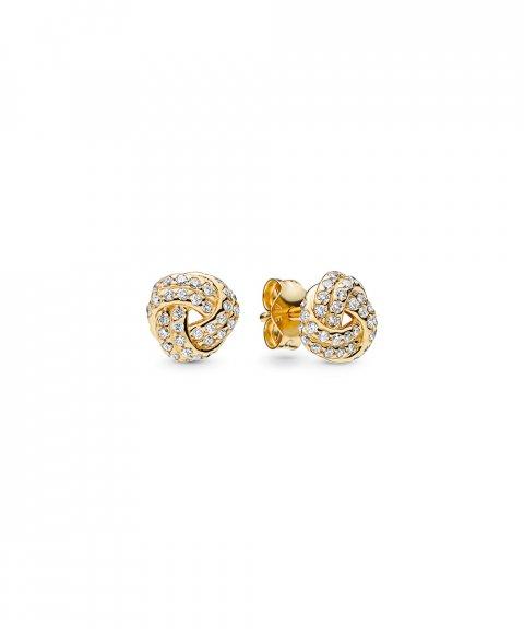 Pandora Shine Sparkling Love Knots Joia Brincos Mulher 260696CZ