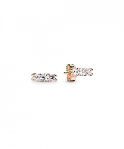 Pandora Rose Sparkling Elegance Joia Brincos Mulher 280725CZ