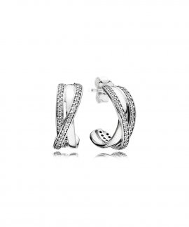 Pandora Entwined Joia Brincos Mulher 290730CZ
