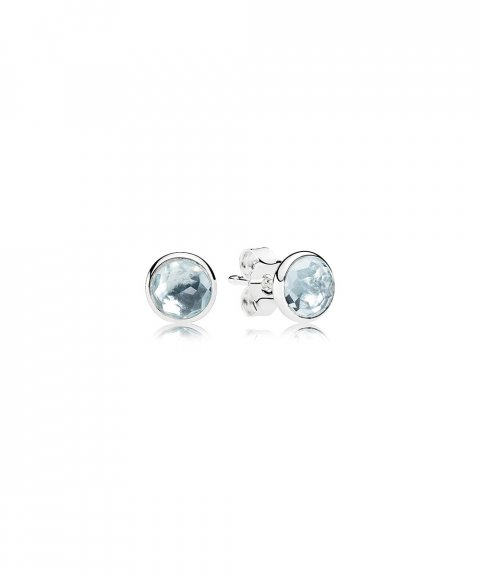 Pandora March Droplets Joia Brincos Mulher 290738NAB