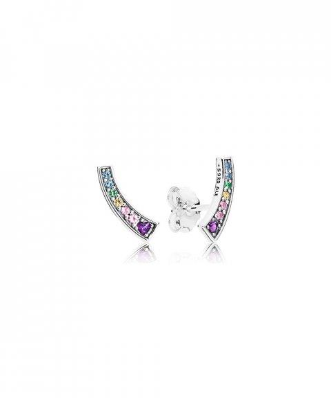 Pandora Multi-Colour Arches Joia Brincos Mulher 297077NRPMX