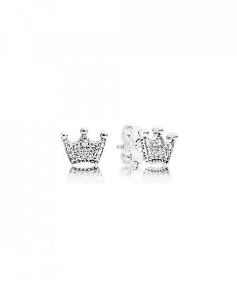 Pandora Enchanted Crowns Joia Brincos Mulher 297127CZ