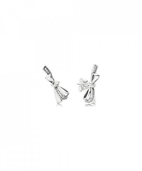 Pandora Brilliant Bows Joia Brincos Mulher 297234CZ