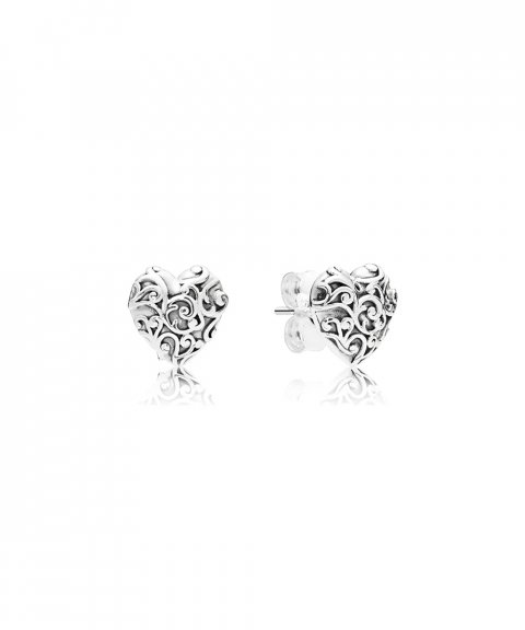 Pandora Regal Hearts Joia Brincos Mulher 297693
