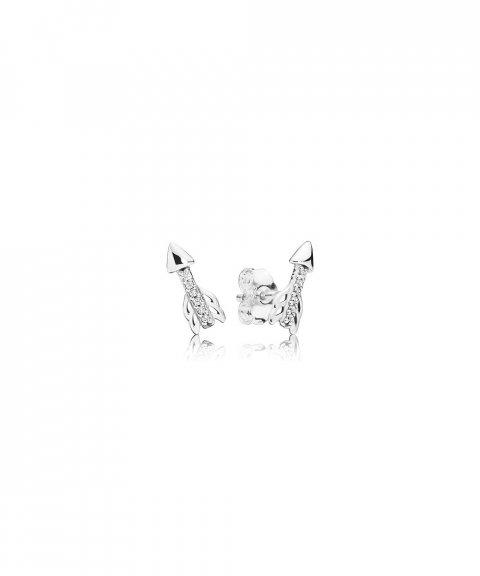 Pandora Sparkling Arrows Joia Brincos Mulher 297828CZ