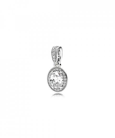 Pandora Vintage Elegance Joia Conta Pendente Colar Mulher 396246CZ