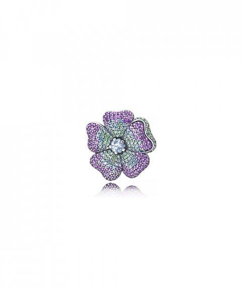 Pandora Glorious Bloom Joia Pendente Colar Pregadeira Mulher 397081NRPMX