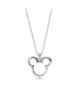 Pandora Disney Petites Floating Locket Joia Colar Mulher 397177-75