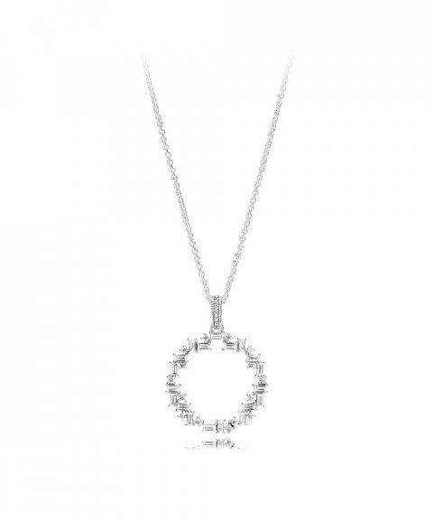 Pandora Shards of Sparkle Joia Colar Mulher 397546CZ-45