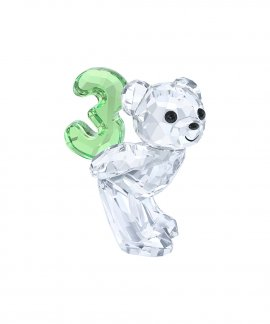 Swarovski Kris Bear - Number Three Figura de Cristal 5108725