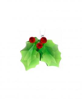 Swarovski Holly Ornament Decoração Figura de Cristal Adorno 5286155