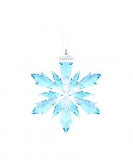 Swarovski Frozen Snowflake Decoração Figura de Cristal Adorno 5286457
