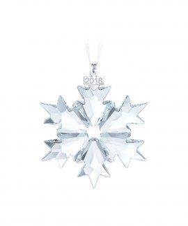 Swarovski Snowflake Decoração Figura de Cristal Adorno 5301575