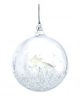 Swarovski Christmas Ball Decoração Figura de Cristal Adorno 5377678