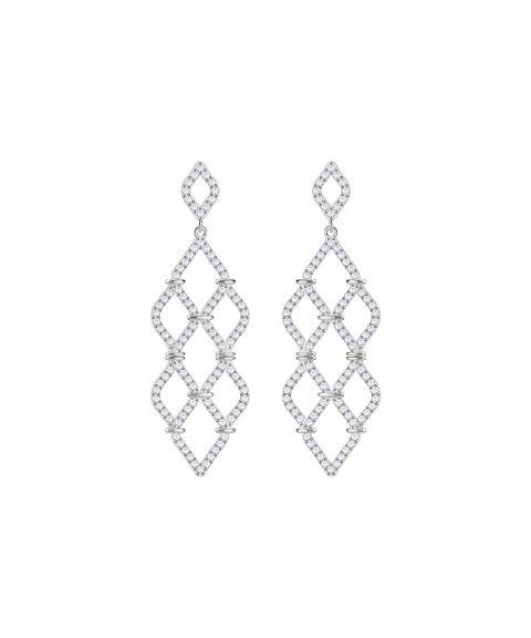Swarovski Lace Joia Brincos Mulher 5382358
