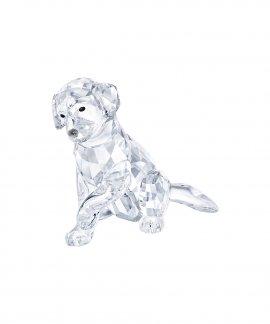Swarovski Labrador Mother Decoração Figura de Cristal 5399004