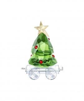 Swarovski Christmas Tree Wagon Decoração Figura de Cristal Mulher 5399977