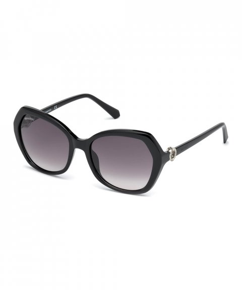 Swarovski Sun Black Óculos de Sol Mulher 5411618